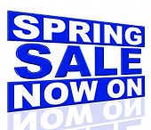 Spring Sale Means At This Time And Closeout