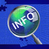 Info Magnifier Represents Advisor Answer And Inform