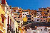 Town San Sebastian - La Gomera Island - Canary Spain
