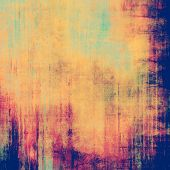 Abstract grunge background. With yellow, purple, violet, blue patterns
