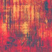Grunge texture. With brown, red, orange, blue patterns