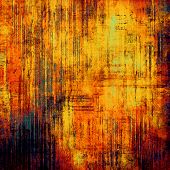 Old texture or Background. With yellow, brown, red, orange patterns