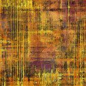Retro texture. With yellow, brown, orange, purple patterns