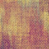 Grunge aging texture, art background. With yellow, brown, purple patterns