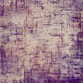 Art grunge vintage textured background. With purple, violet, gray patterns