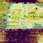 Rough vintage texture. With yellow, brown, purple, green patterns
