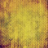 Old grunge antique texture. With yellow, brown, orange, green patterns