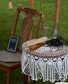 Civil War Era Reading Table