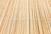 Thin light colored bamboo mat