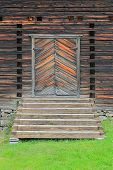 Entrance Door To Petajavesi Old Church, Finland