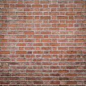 image of brick block  - Background of brown brick wall texture background - JPG