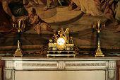 Candlestick, clock