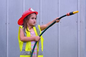 picture of firemen  - Child  - JPG