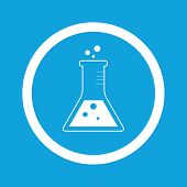 foto of conic  - Image of conical flask in circle - JPG