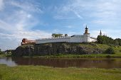 image of rebuilt  - The first buildings of the Kremlin are in 1598 - JPG