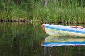 pic of kayak  - Beautiful Krutynia river landscape photographed from kayak - JPG