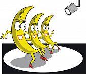 Funny banana cartoon