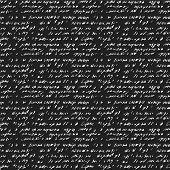 stock photo of handwriting  - Seamless background of abstract handwriting - JPG
