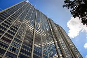 image of high-rise  - Downtown chicago high rise buildings and skyline - JPG