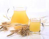 stock photo of jug  - Grain drink  - JPG