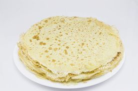 foto of crepes  - Fried crepes  - JPG