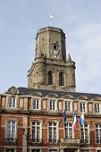 Boulogne Town Hall. France