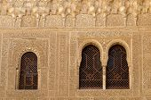 Moorish Architecture Inside The Alhambra