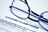 Expense claim form