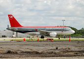 Northwest Airlines Passenger Jet