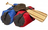 picture of mud pack  - paddling trip or vacation concept  - JPG