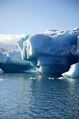 massive Eisberg