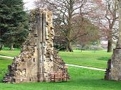 Glastonbury Abbey So Ancient That Only Its Legend Can Record Its Origin