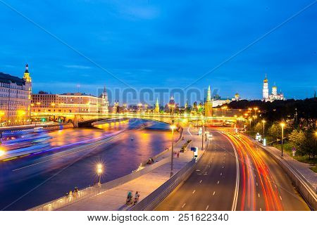 Evening View Of The Moscow