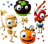 halloween vector set 6