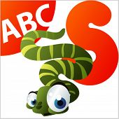 ABC Animals: S is for Snake