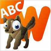 ABC Animals: W is foe Wolf