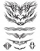 Wings - Abstract Tribal Tattoo Designs