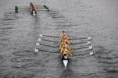 BOSTON - OCTOBER 23: Jesuit College Prep School Of Dallas youth men's Eights races