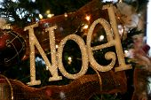 Noel Holiday Ornament