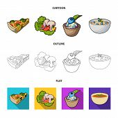 Piece Of Vegetarian Pizza With Tomatoes, Lettuce Leaves With Mushrooms, Blueberry Cake, Vegetarian S poster