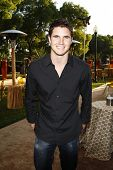 LOS ANGELES - JUNE 16: Robbie Amell at the premiere of 'Entourage' held at Paramount Studios on June 16, 2010 in Los Angeles, California