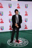 LOS ANGELES - 10 de NOV: Erik Estrada chega no 12º Latin GRAMMY Awards no Mandalay Bay o