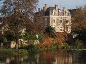 Juigne sur Sarthe house, France.