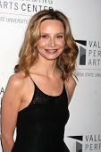 LOS ANGELES - JAN 29:  Calista Flockhart arrives at the Valley Performing Arts Center Opening Gala a