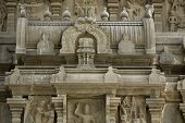 pic of vijayanagara  - South India Temple designed Roof with statue design - JPG