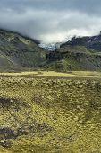 Paisaje del sur de Islandia, Parque Nacional Vatnajokull