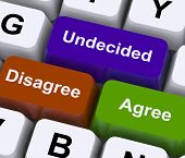 Disagree Agree Undecided Keys For Online Poll