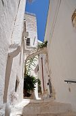 Ostuni alley the White City