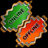 On-line And Offline Icon