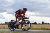 Die australische Radrennfahrerin-Cadel Evans